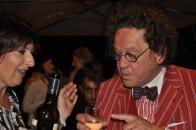Paola Longo e Philippe Daverio
